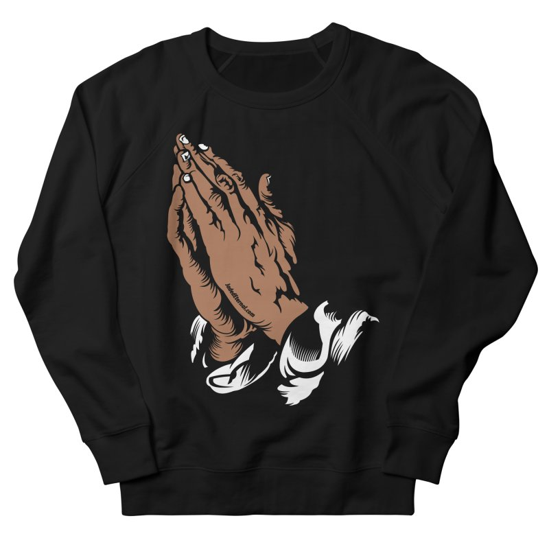 Just Pray Men's French Terry Sweatshirt by JADED ETERNAL