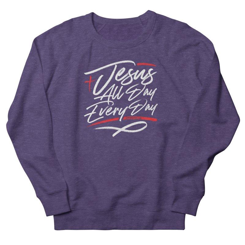 JADED Script Women's French Terry Sweatshirt by JADED ETERNAL