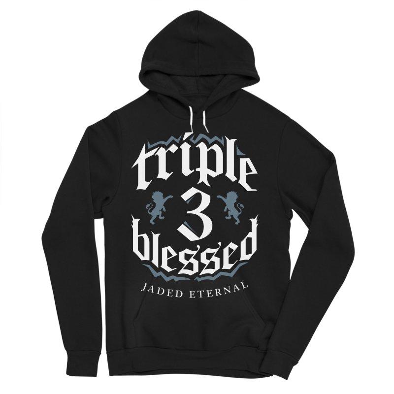 Triple Blessed Women's Sponge Fleece Pullover Hoody by JADED ETERNAL