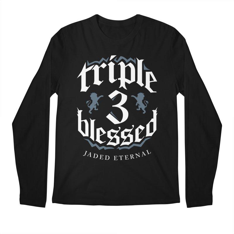 Triple Blessed Men's Regular Longsleeve T-Shirt by JADED ETERNAL