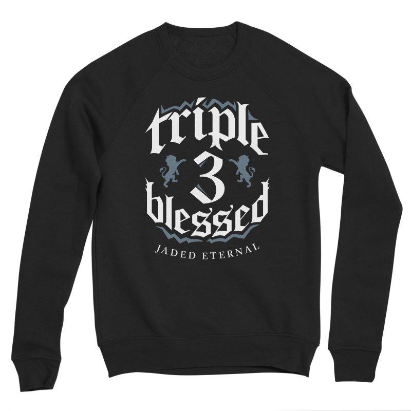 Triple Blessed Men's Sponge Fleece Sweatshirt by JADED ETERNAL