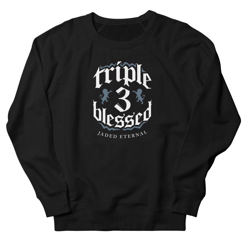 Triple Blessed Women's French Terry Sweatshirt by JADED ETERNAL