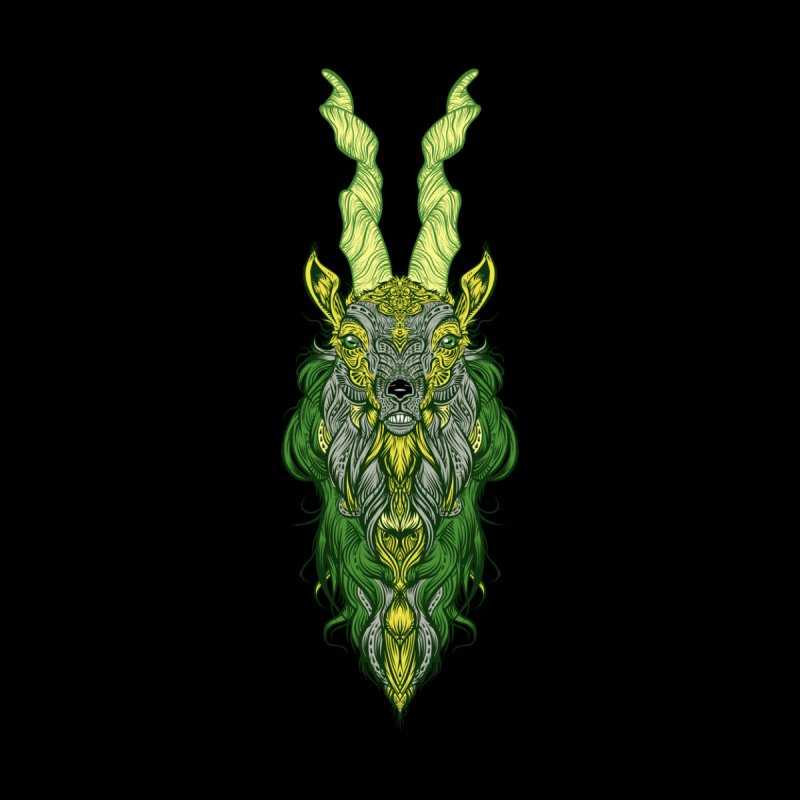 Green Goat by jadegordon's Artist Shop