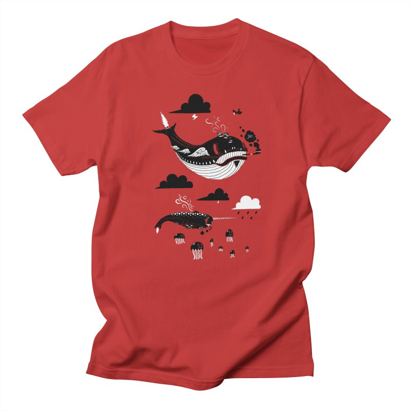 Badasses Roaming The Skies Men's T-Shirt by Jæn
