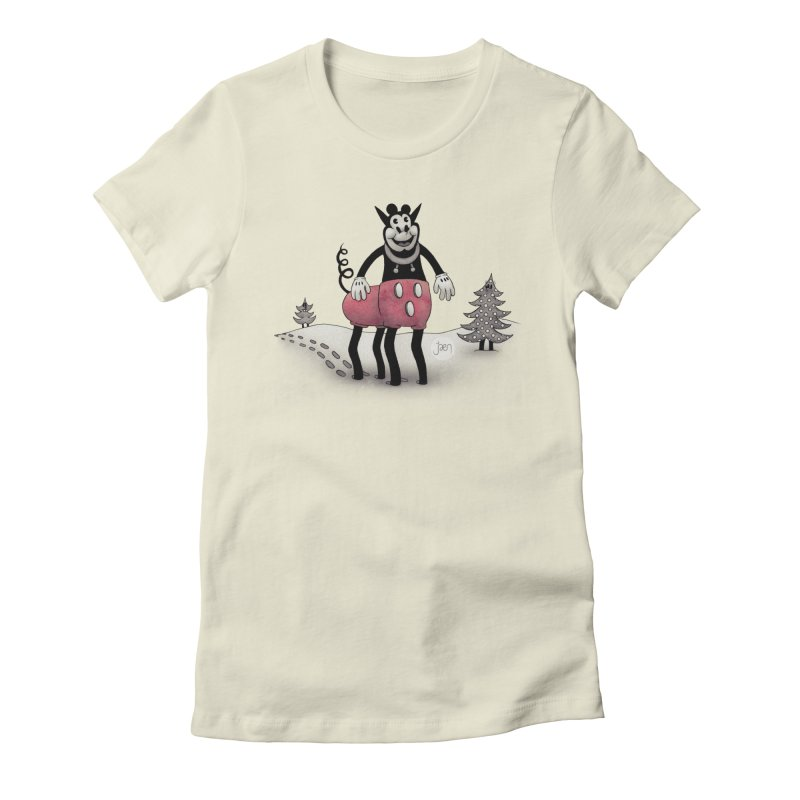 BakeMickey Women's Fitted T-Shirt by Jæn