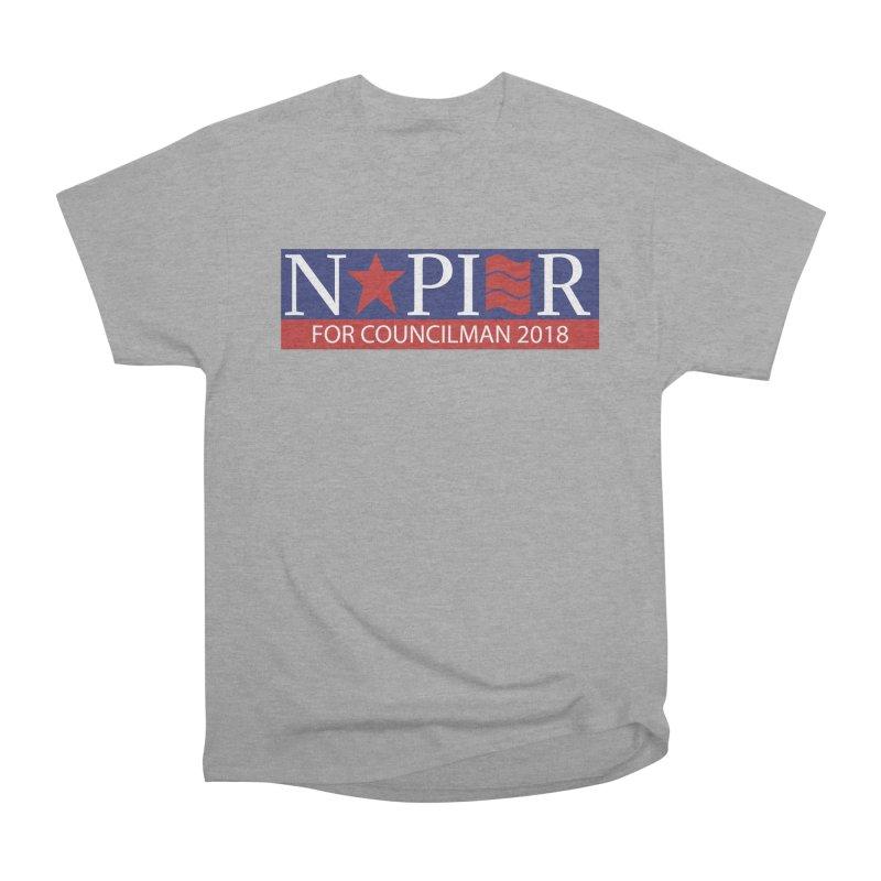 Napier 2018 (A) Men's Heavyweight T-Shirt by Jae Pereira's Shop