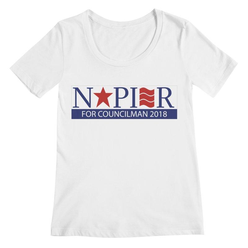 Napier 2018 (C) Women's Regular Scoop Neck by Jae Pereira's Shop