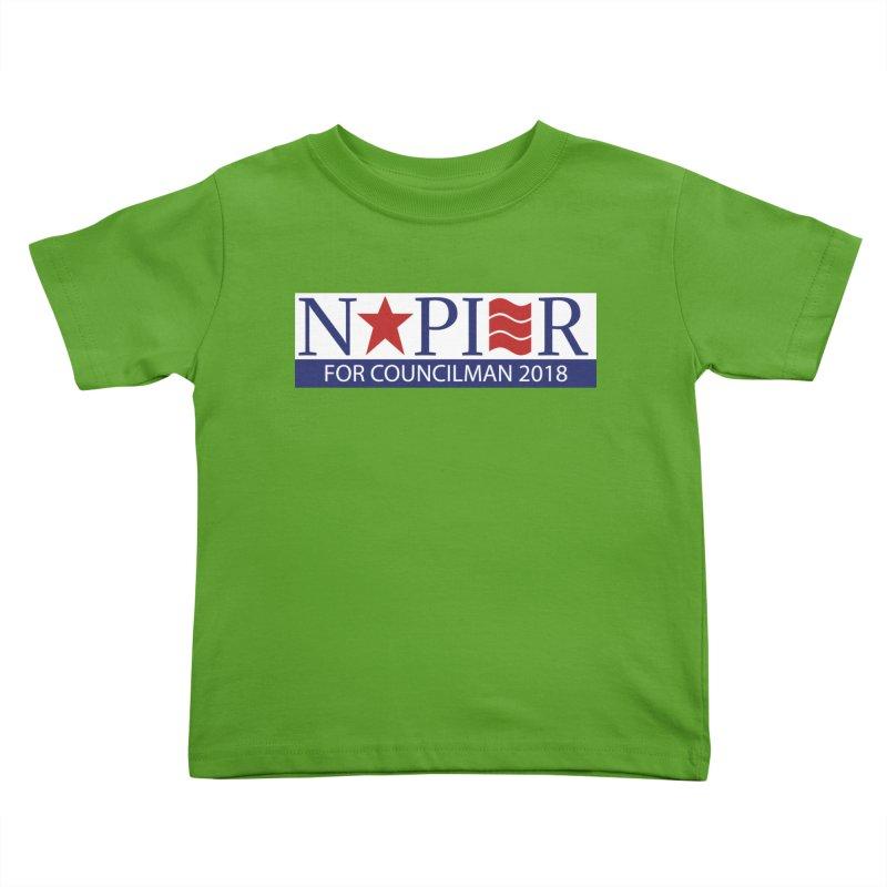 Napier 2018 (C) Kids Toddler T-Shirt by Jae Pereira's Shop