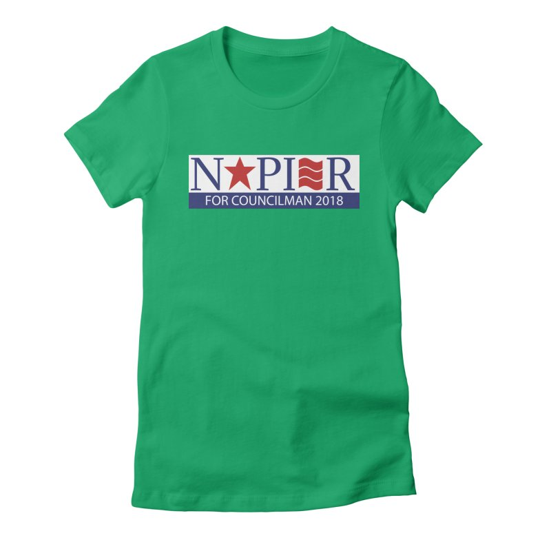 Napier 2018 (C) Women's Fitted T-Shirt by Jae Pereira's Shop