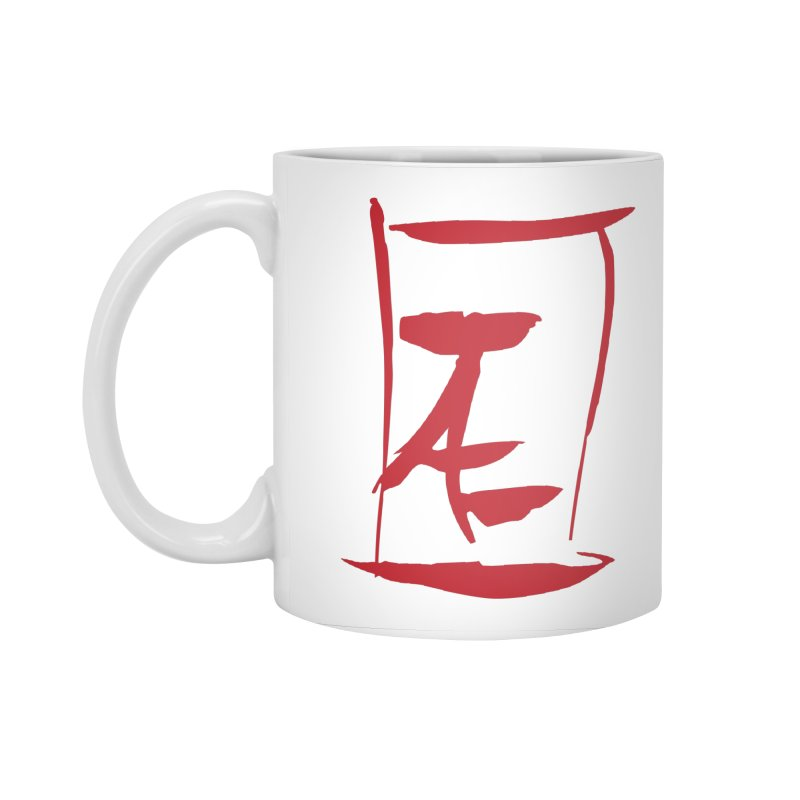 Kanji Logo Accessories Standard Mug by Jae Pereira's Shop