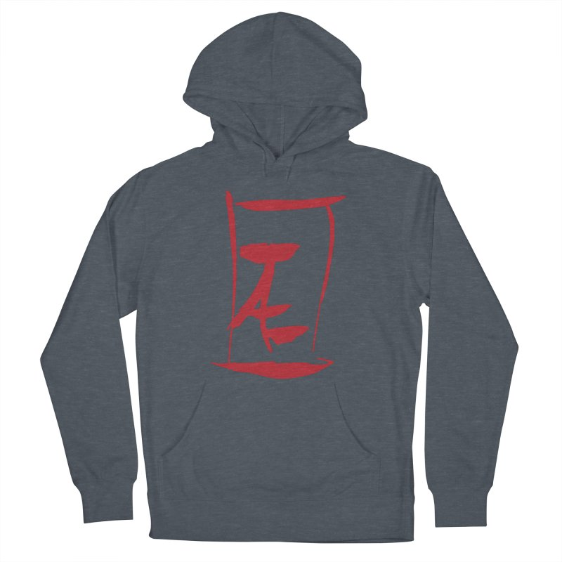 Kanji Logo Women's French Terry Pullover Hoody by Jae Pereira's Shop