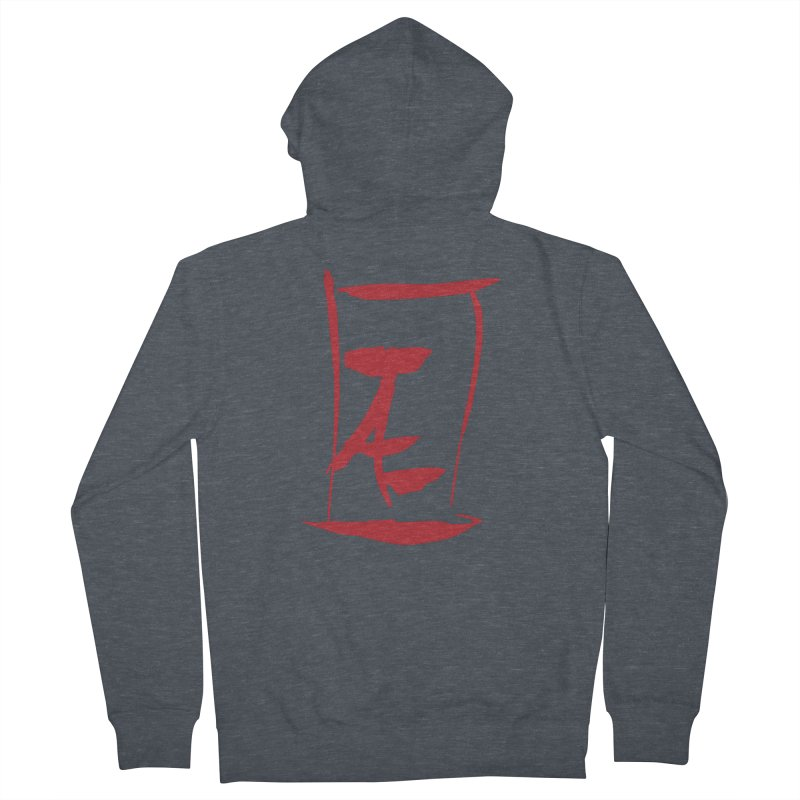 Kanji Logo Women's Zip-Up Hoody by Jae Pereira's Shop