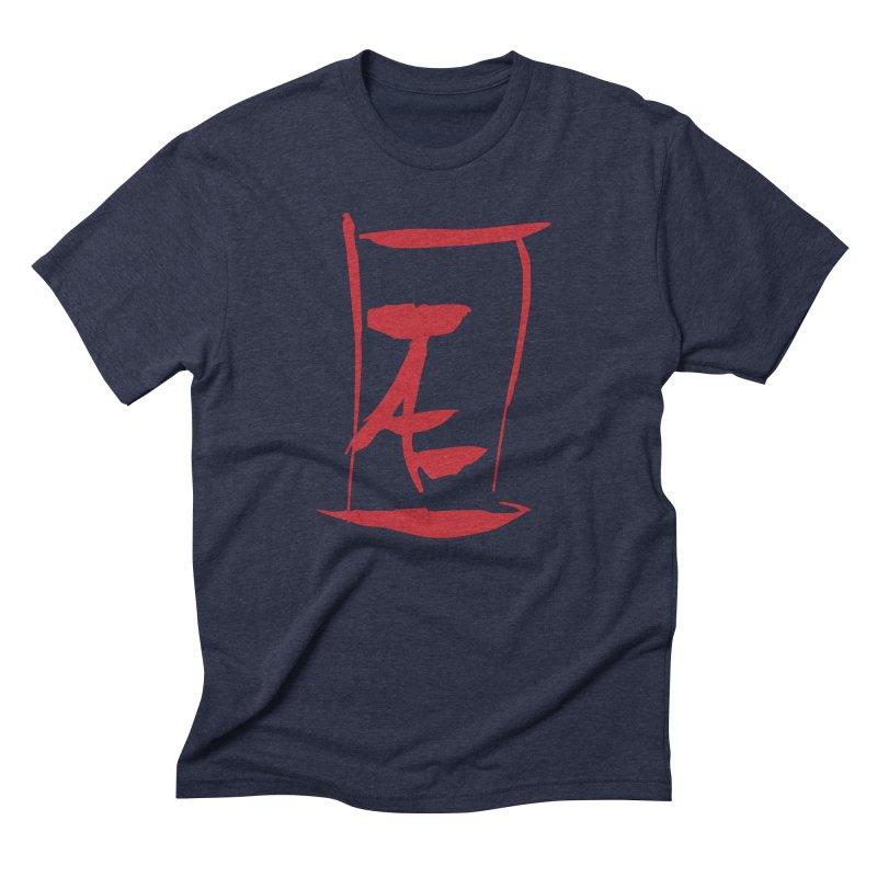 Kanji Logo Men's Triblend T-Shirt by Jae Pereira's Shop