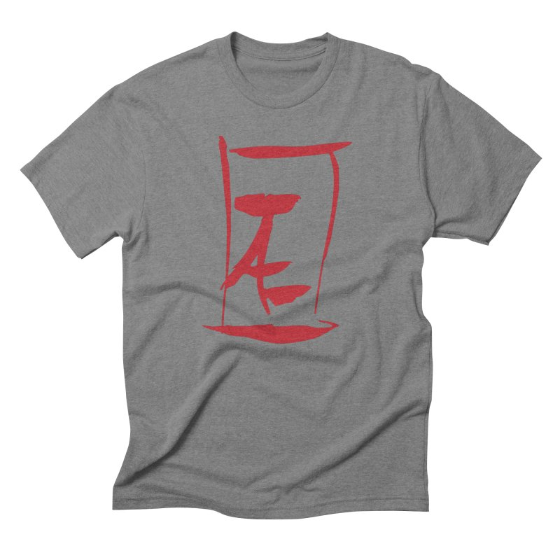 Kanji Logo Men's Triblend T-Shirt by Jae Pereira's Shop