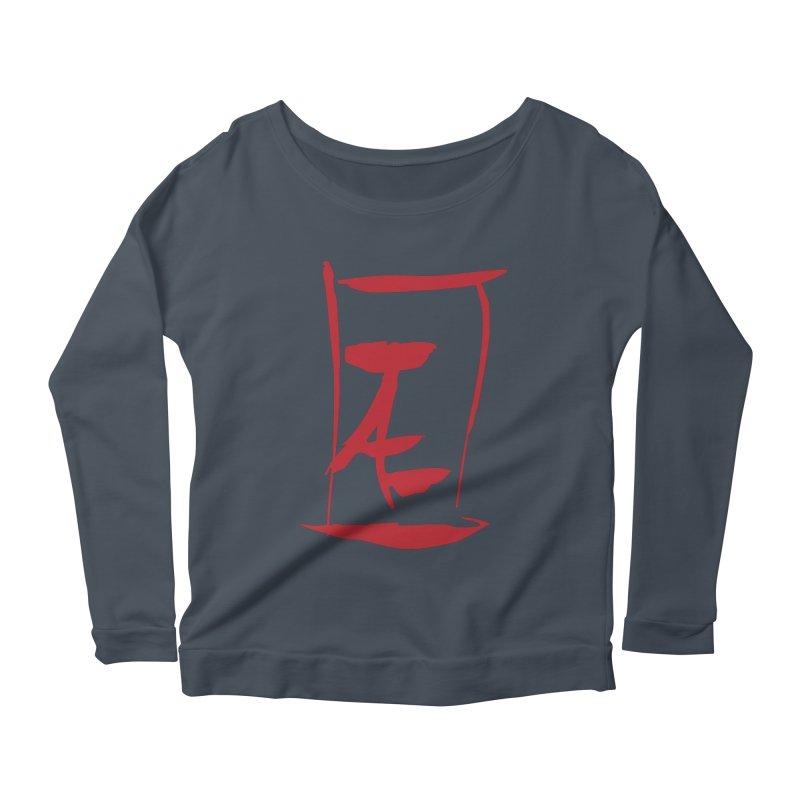 Kanji Logo Women's Longsleeve T-Shirt by Jae Pereira's Shop