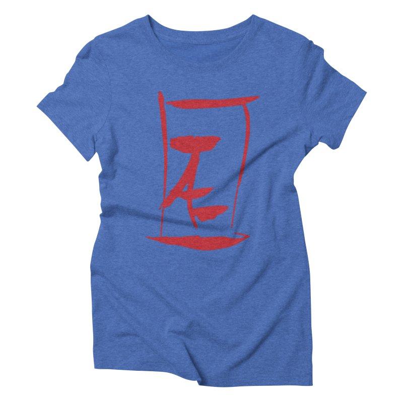 Kanji Logo Women's Triblend T-Shirt by Jae Pereira's Shop