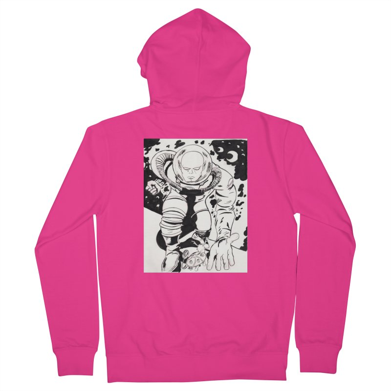 Kirby Found Men's French Terry Zip-Up Hoody by Jae Pereira's Shop