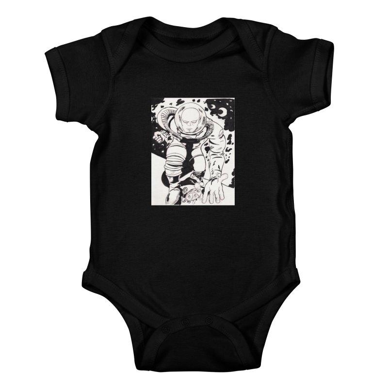 Kirby Found Kids Baby Bodysuit by Jae Pereira's Shop