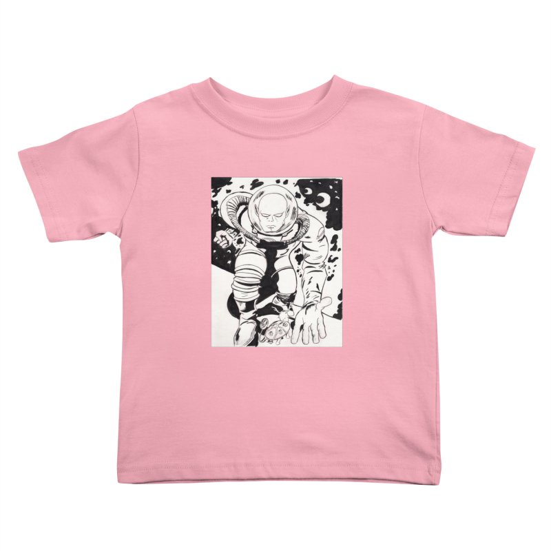 Kirby Found Kids Toddler T-Shirt by Jae Pereira's Shop