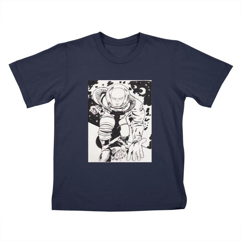 Kirby Found Kids T-Shirt by Jae Pereira's Shop