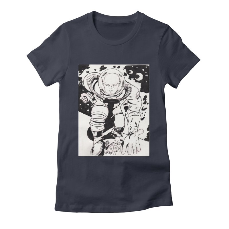 Kirby Found Women's Fitted T-Shirt by Jae Pereira's Shop