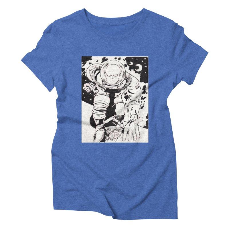 Kirby Found Women's Triblend T-Shirt by Jae Pereira's Shop