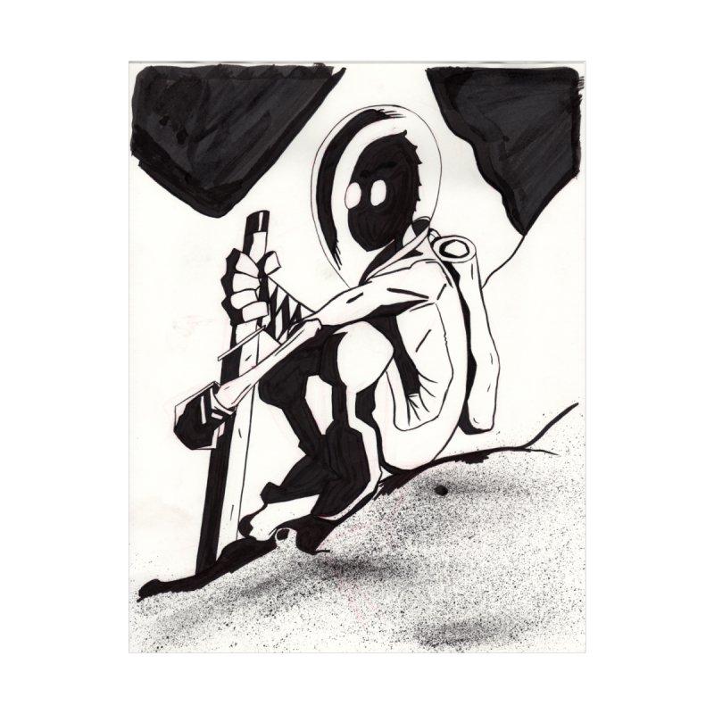 Mysterious Swordsman Women's Zip-Up Hoody by Jae Pereira's Shop