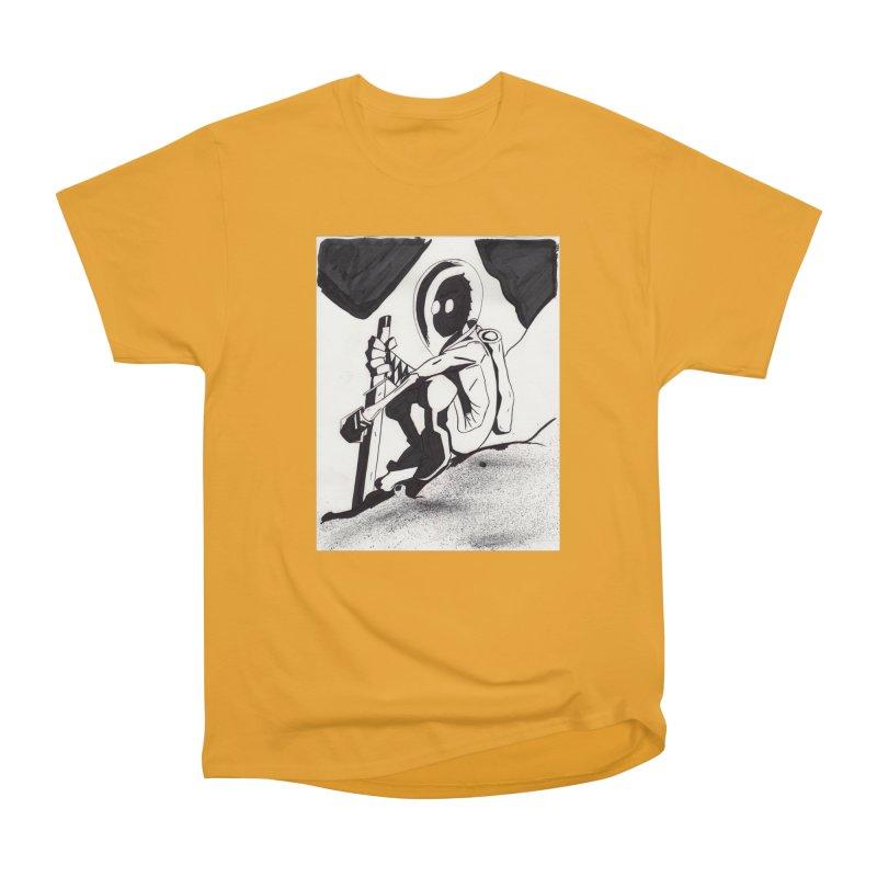 Mysterious Swordsman Men's Heavyweight T-Shirt by Jae Pereira's Shop
