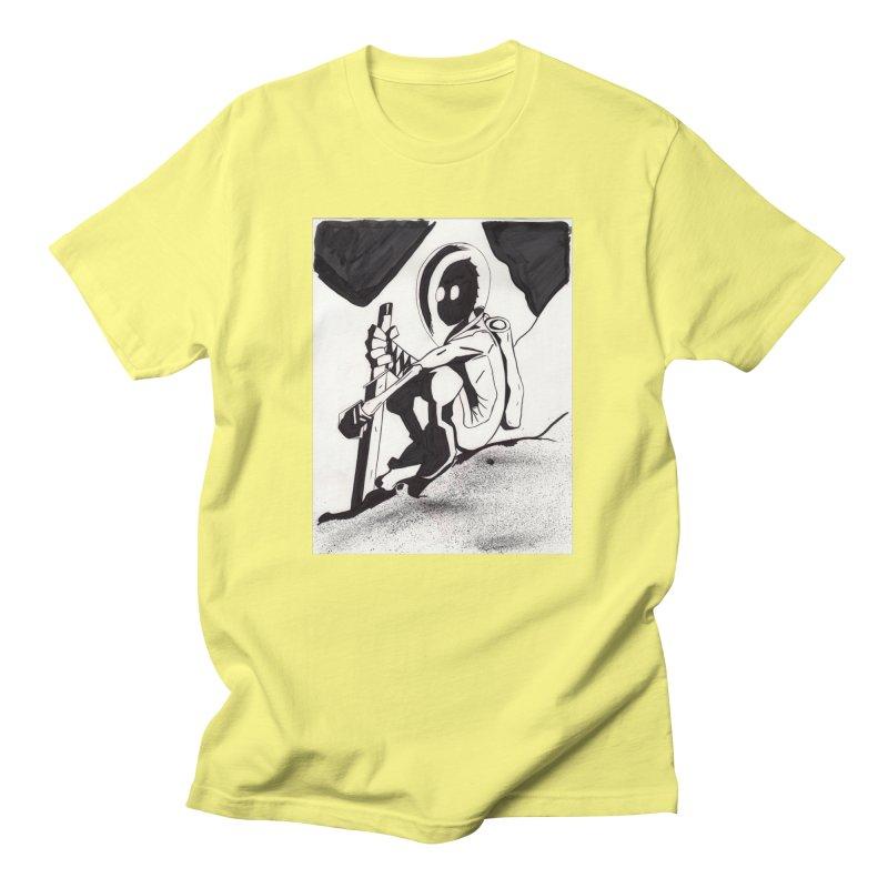 Mysterious Swordsman Men's T-Shirt by Jae Pereira's Shop