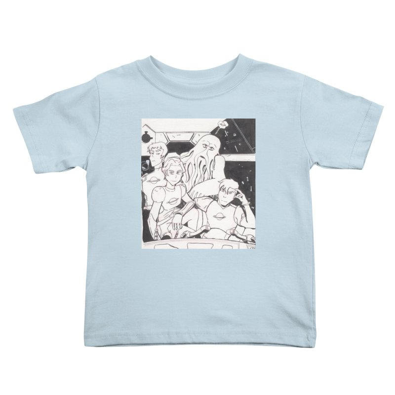 United Paladins of the Galaxy Kids Toddler T-Shirt by Jae Pereira's Shop