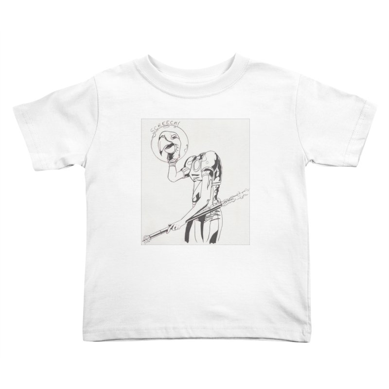 Screech! Kids Toddler T-Shirt by Jae Pereira's Shop