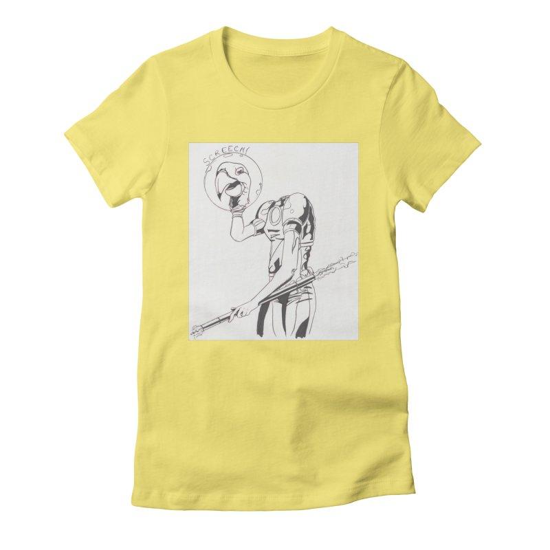 Screech! Women's T-Shirt by Jae Pereira's Shop