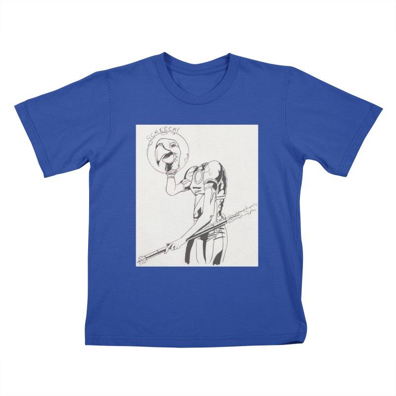 Screech! Kids T-Shirt by Jae Pereira's Shop