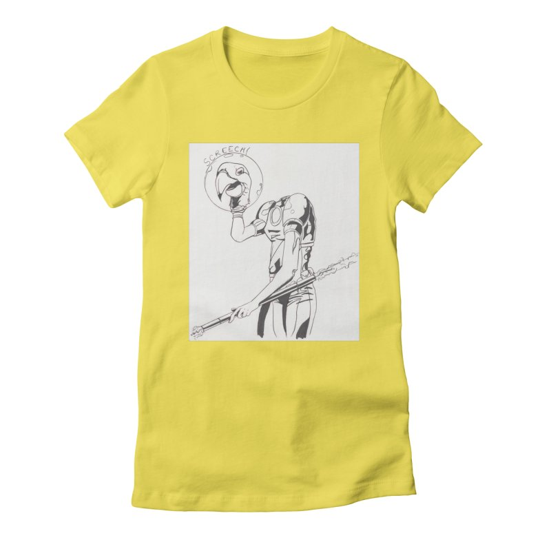 Screech! Women's T-Shirt by Jae Pereira's Shop