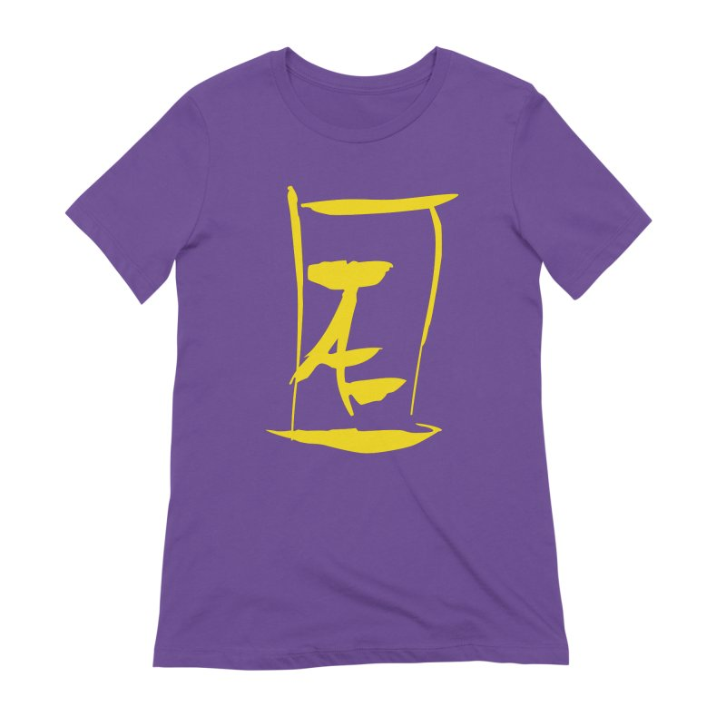 Jae Kanji Logo (G) Women's Extra Soft T-Shirt by Jae Pereira's Shop