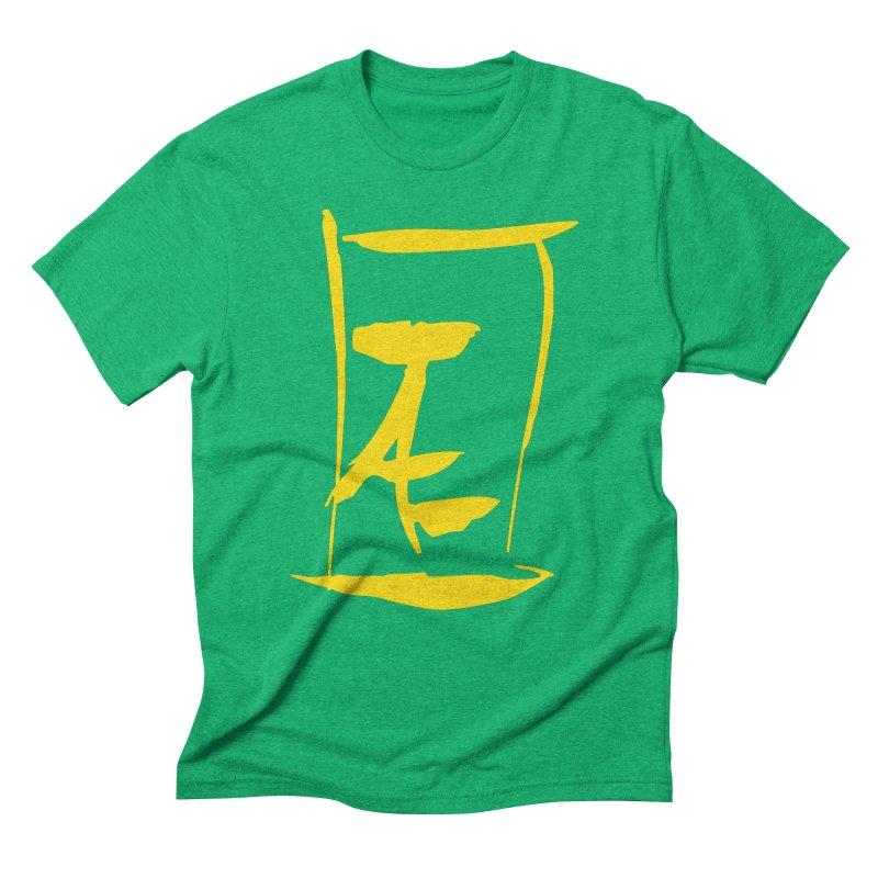 Jae Kanji Logo (G) Men's Triblend T-Shirt by Jae Pereira's Shop