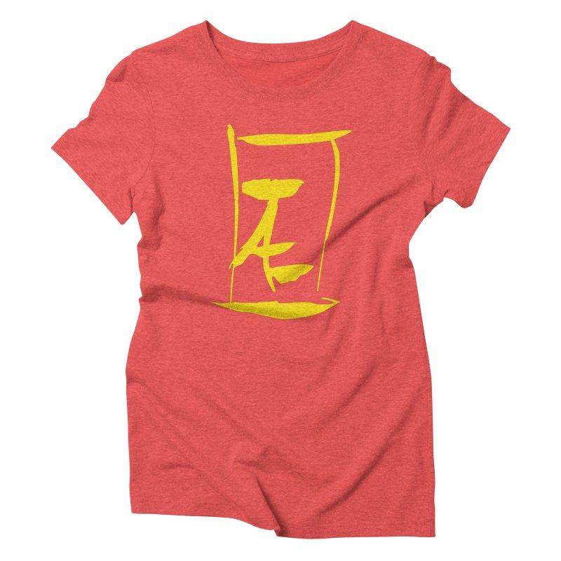 Jae Kanji Logo (G) Women's T-Shirt by Jae Pereira's Shop