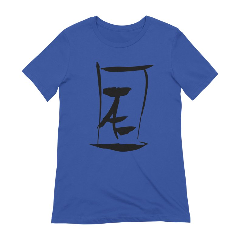 Jae Kanji Logo (Bk) Women's Extra Soft T-Shirt by Jae Pereira's Shop