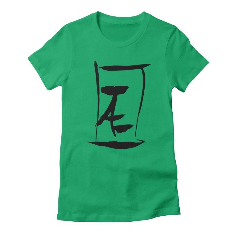 Jae Kanji Logo (Bk) Women's T-Shirt by Jae Pereira's Shop