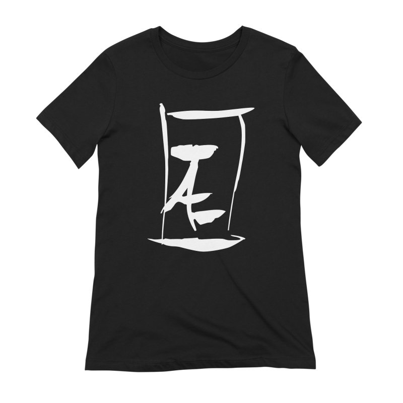 Jae Kanji Logo (W) Women's Extra Soft T-Shirt by Jae Pereira's Shop