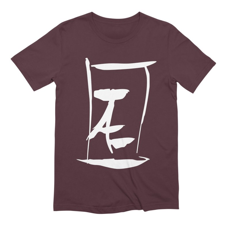 Jae Kanji Logo (W) Men's Extra Soft T-Shirt by Jae Pereira's Shop
