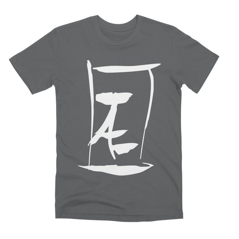 Jae Kanji Logo (W) Men's Premium T-Shirt by Jae Pereira's Shop