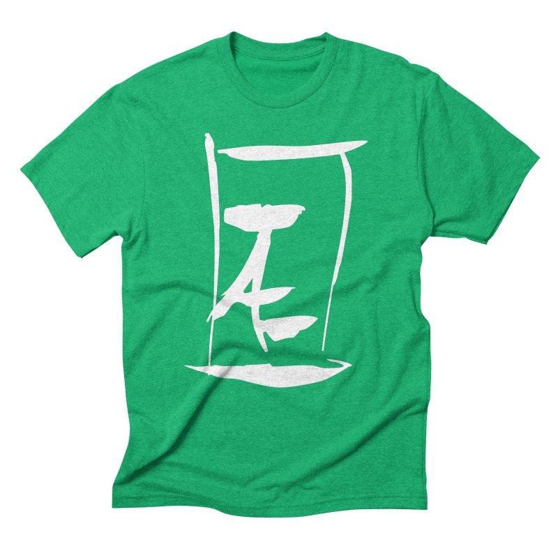 Jae Kanji Logo (W) Men's Triblend T-Shirt by Jae Pereira's Shop