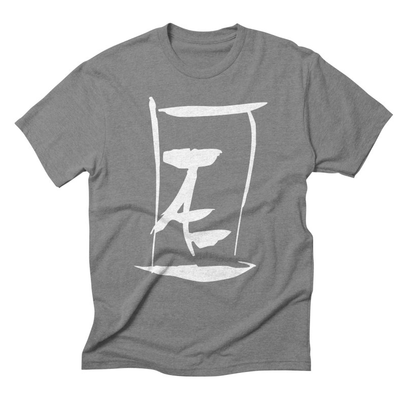 Jae Kanji Logo (W) Men's Triblend T-Shirt by Jae Pereira's Shop