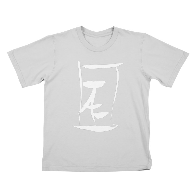 Jae Kanji Logo (W) Kids T-Shirt by Jae Pereira's Shop