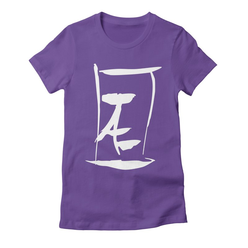 Jae Kanji Logo (W) Women's T-Shirt by Jae Pereira's Shop