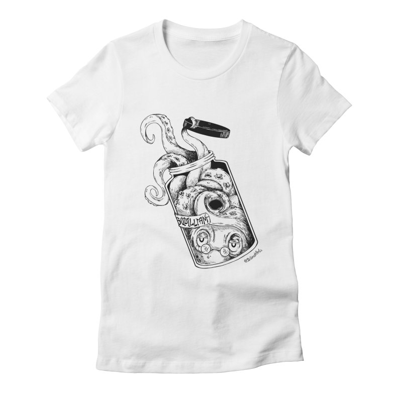 Sir Squilliam Women's Fitted T-Shirt by jailbreakarts's Artist Shop