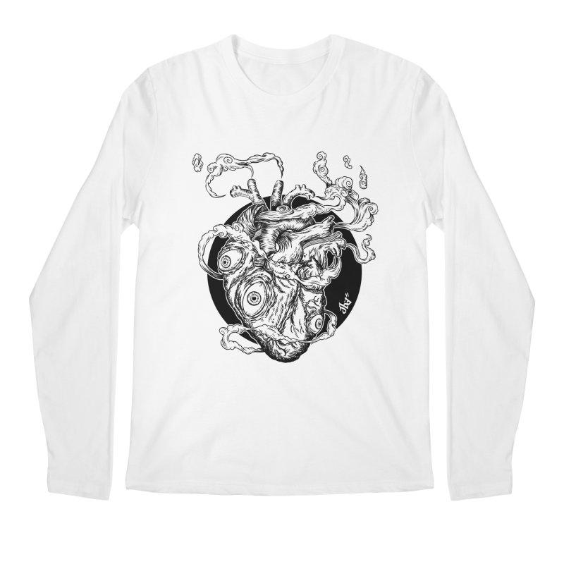 Eyes On Me Men's Longsleeve T-Shirt by jailbreakarts's Artist Shop
