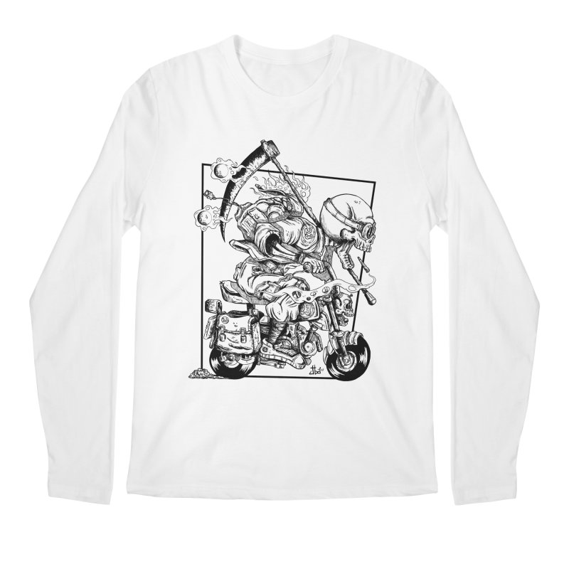 Death Riding Men's Longsleeve T-Shirt by jailbreakarts's Artist Shop