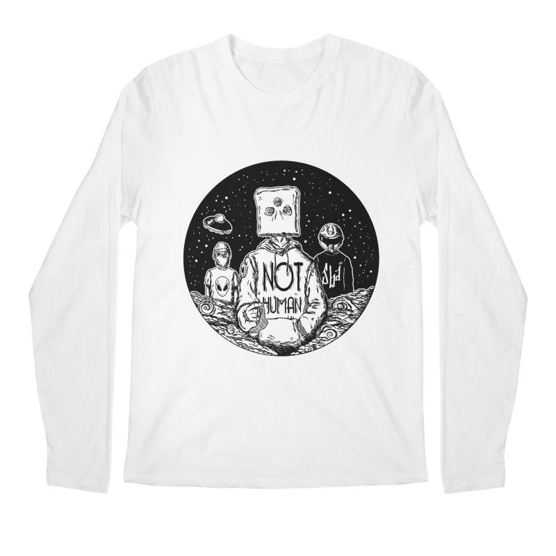 NOY HUMAN Men's Longsleeve T-Shirt by jailbreakarts's Artist Shop